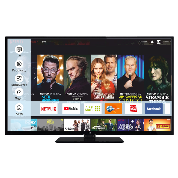 F&U Smart TV FLS39202 Full HD 39''