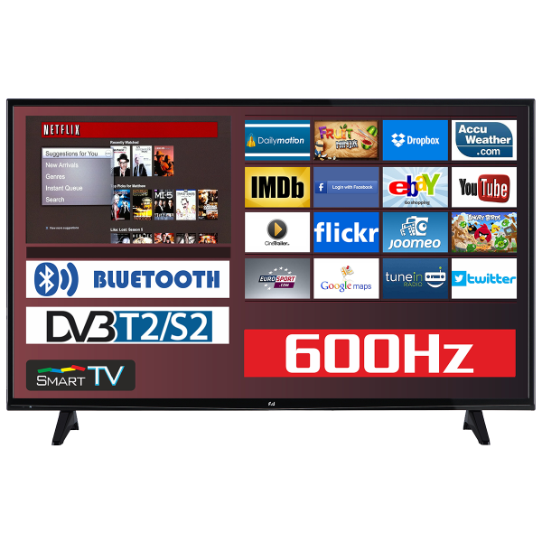 F&U Smart TV FLS50201 Full HD 50''