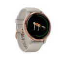 GARMIN Smartwatch Venu Light Sand/ Rose Gold