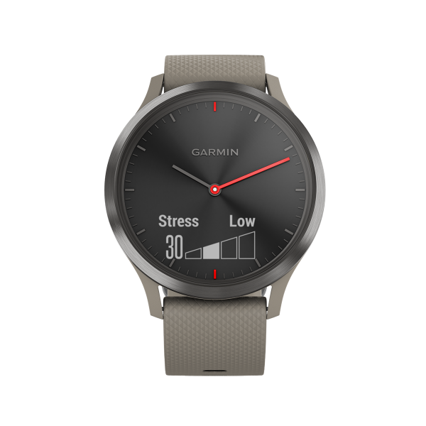 GARMIN Smartwatch Vivomove HR Sport Medium Sandstone