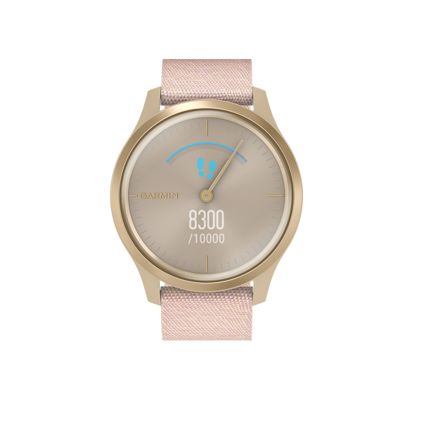 GARMIN Smartwatch Vivomove Style Blush Pink/ Light Gold