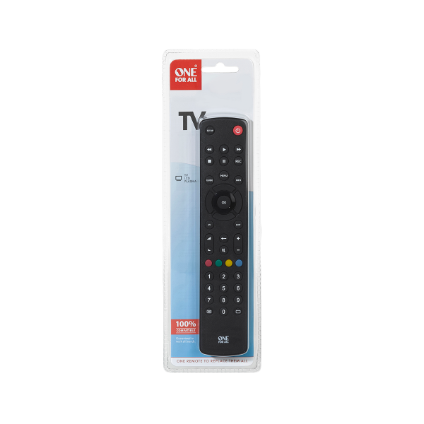 ONE FOR ALL Remote Controller Contour TV Universal URC 1210