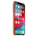 Leather Case APPLE iPhone Xs Max Orange