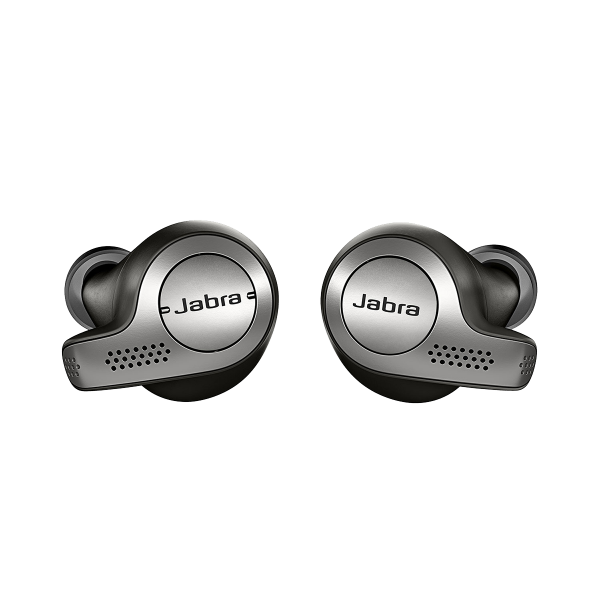 Wireless earphones JABRA Elite 65t Titanium Black
