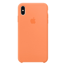 APPLE iPhone Xs Max Silicone Case Light Orange