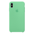 APPLE iPhone Xs Silicone Case Blue