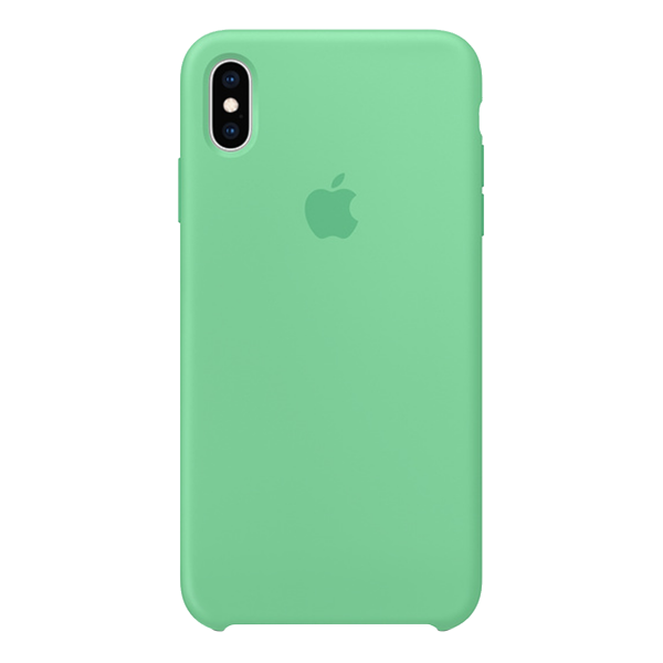 APPLE iPhone Xs Max Silicone Case Light Green