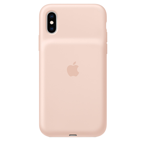 Smart Battery Case APPLE iPhone Xs Light Pink