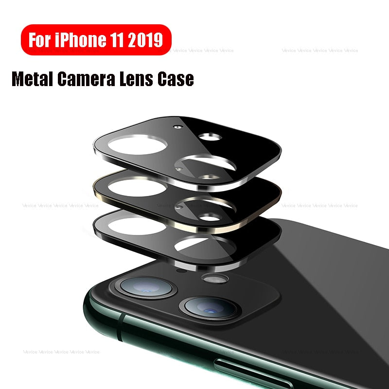 Rear Camera Lens Protection Case For iPhone XR XS 11 Pro Max X 10 Titanium Alloy Camera Screen Cover For iphone 11Pro Max Bumper