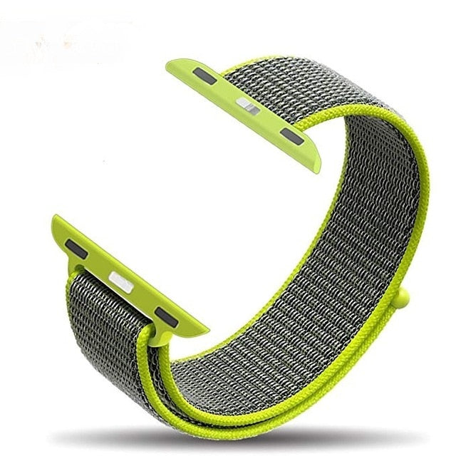 Nylon Sport Loop Strap Bands For Apple Watch 5 Band 44mm 42mm 40mm 38m Strap For Iwatch Series 5/4/3/2/1 Watchbands
