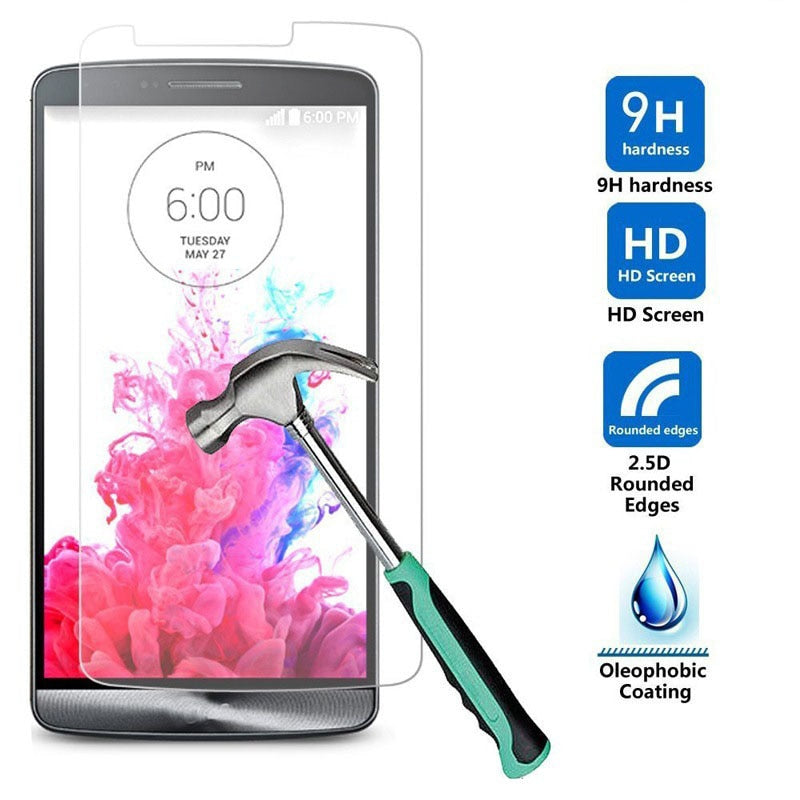 Top quality 9H 0.26mm Screen Protection Tempered Glass Toughened Membrane For LG  g2mini g4 g4s g4beat g5