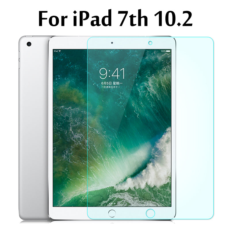 Tempered Glass membrane For iPad 10.2 2019 Steel film Tablet Screen Protection Toughened For iPad 7 7th Generation