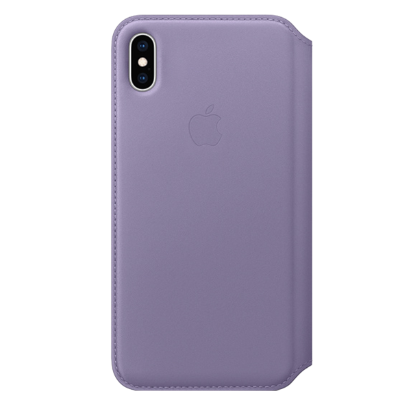 Folio APPLE Leather Case iPhone Xs Max Blue