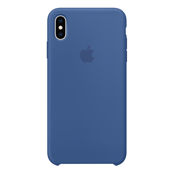 APPLE iPhone Xs Max Silicone Case Blue