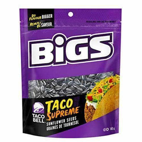 Bigs Taco Bell Supreme Sunflower Seeds - Curious Taste
