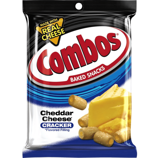 Combos Cheddar - Curious Taste