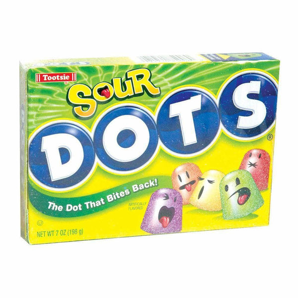 Dots Sour Gumdrops Candy Theatre Packs - Curious Taste