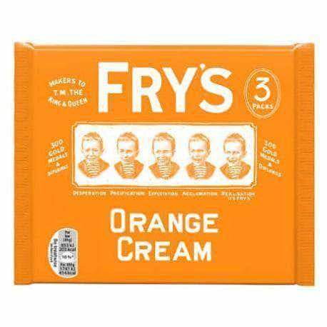 Fry's Orange Cream 3 Pack - Curious Taste