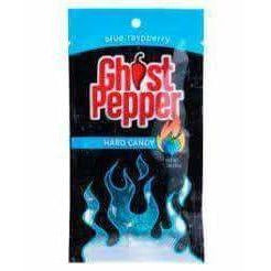 Ghost Pepper Candy Blue Raspberry - Curious Taste