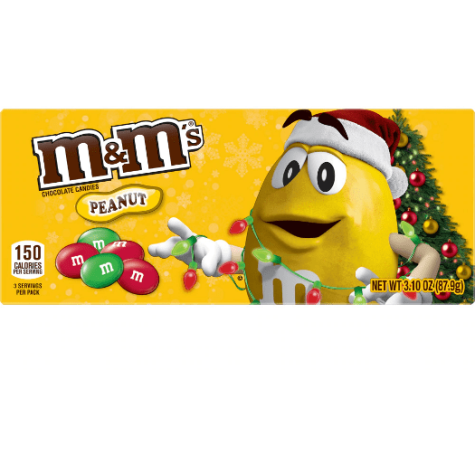 M&M's Peanut Holiday - Curious Taste