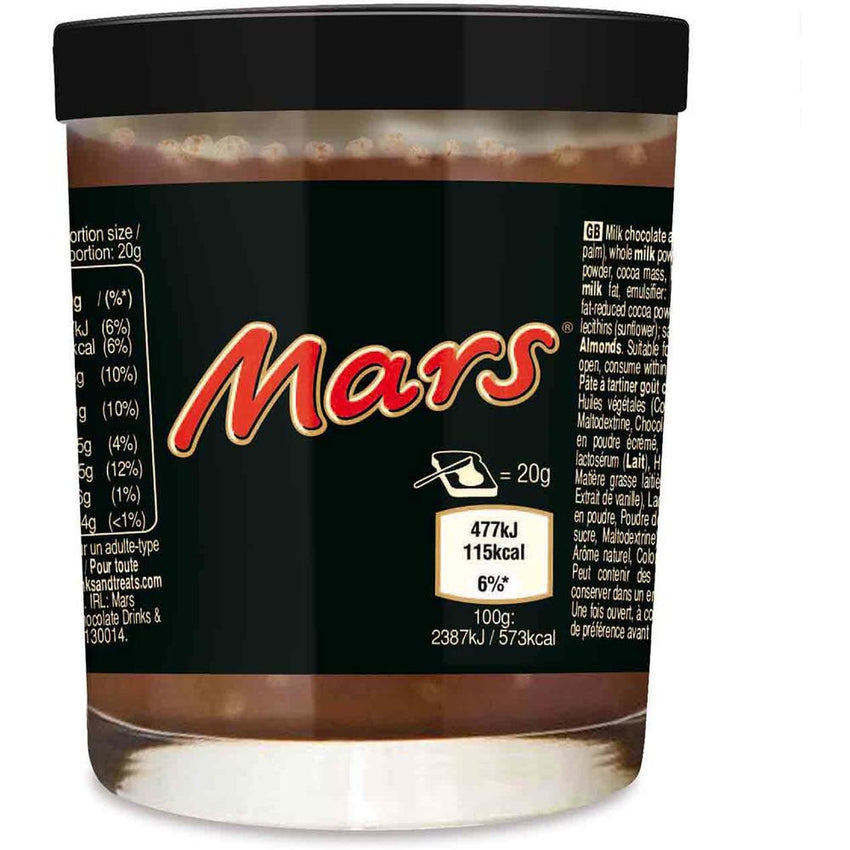 Mars Chocolate Spread - Curious Taste