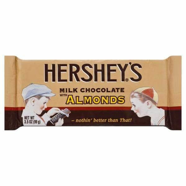 Nostalgic Hershey Milk Chocolate with Almonds King Size - Curious Taste