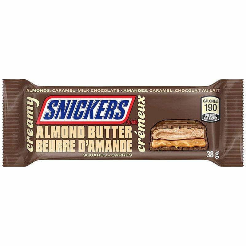 Snickers Creamy Almond Butter Squares - Curious Taste