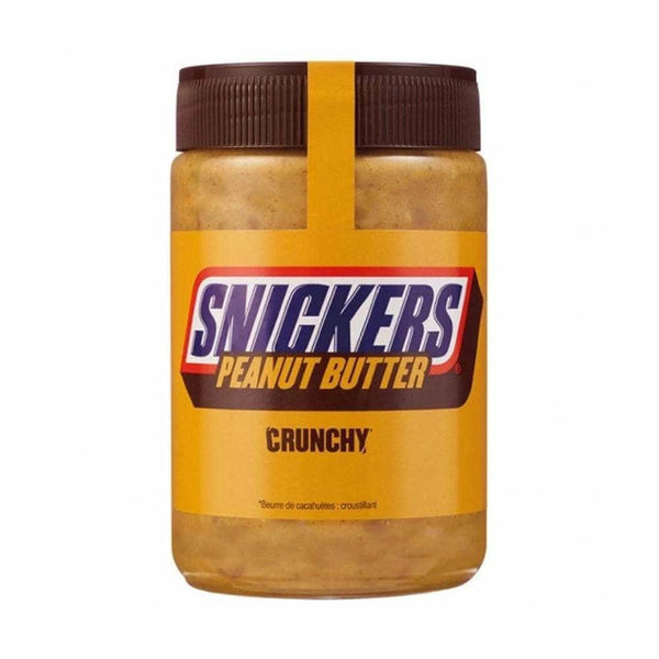 Snickers Crunchy Peanut Butter - Curious Taste