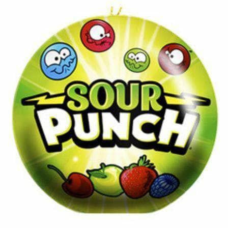 Sour Punch Christmas Ornament Tin - Curious Taste