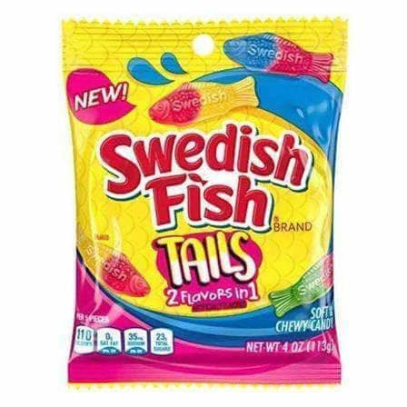 Swedish Fish Big Tails - Curious Taste