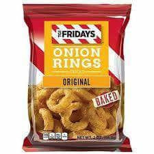 TGI Fridays Onion Rings Baked Snacks - Curious Taste