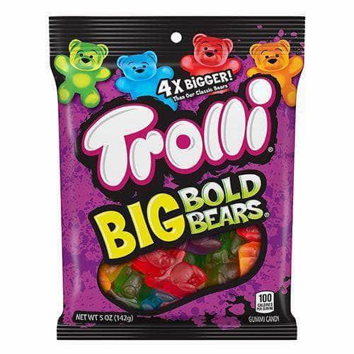 Trolli Big Bold Bears - Curious Taste