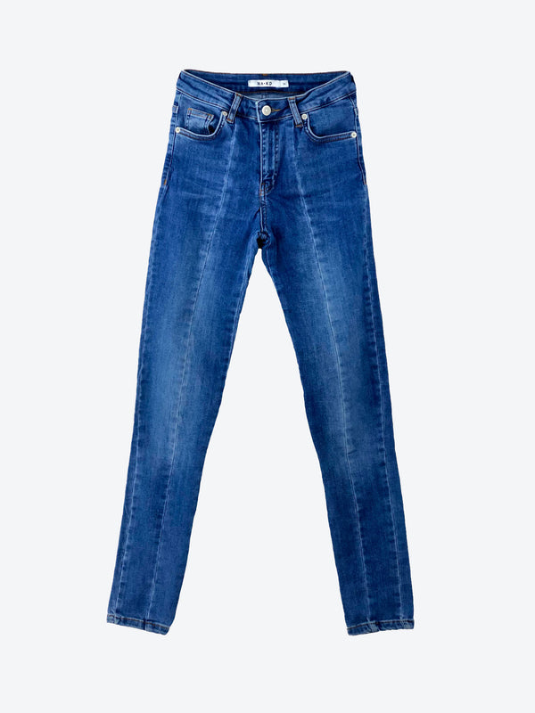 Jean slim Femme d'occasion NA-KD - Taille : 34