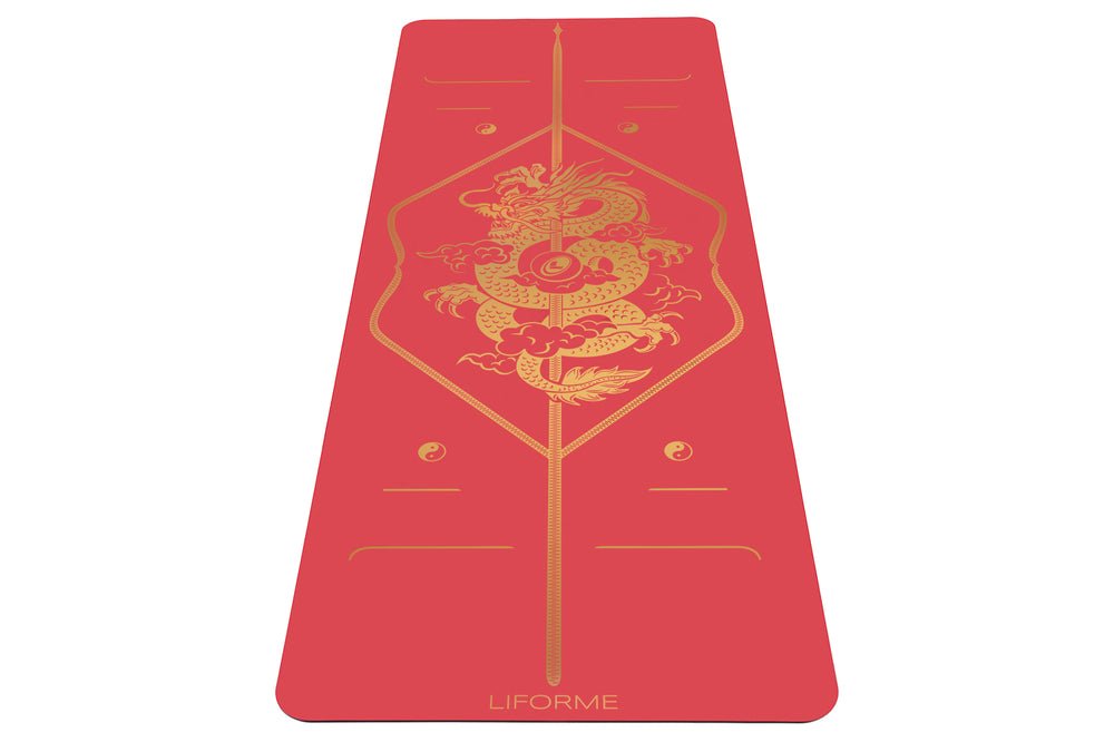 Liforme Dragon & Phoenix Yoga Mats - Dragon image 2