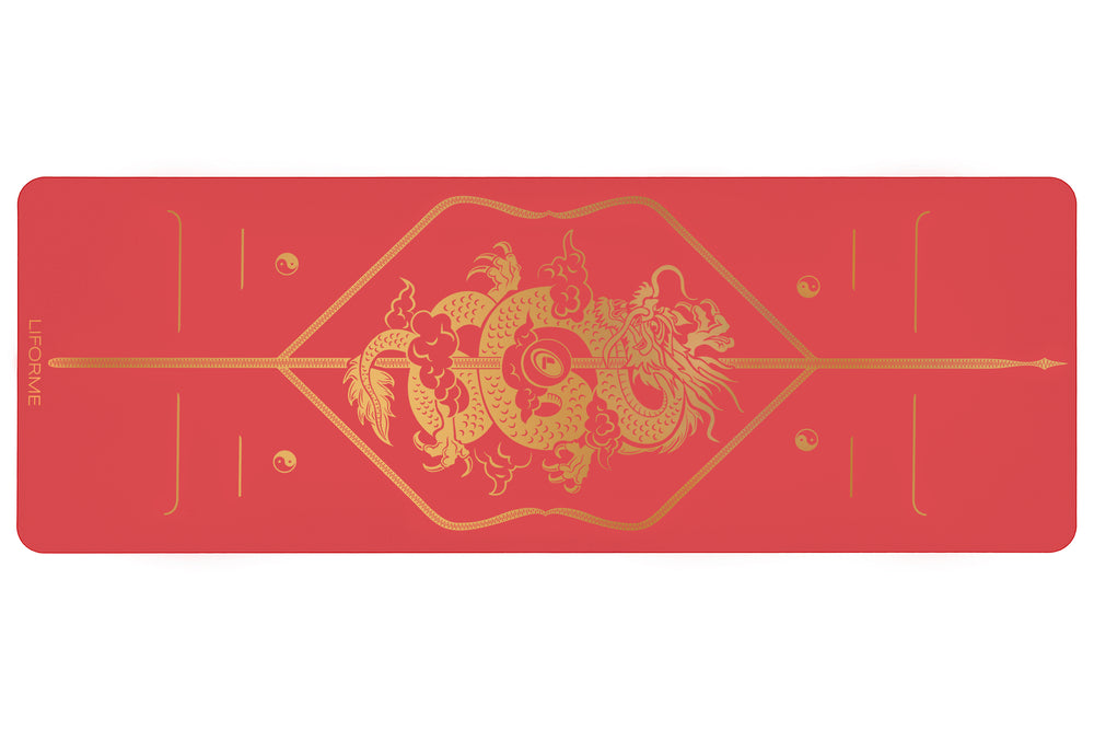 Liforme Dragon & Phoenix Yoga Mats - Dragon image 4