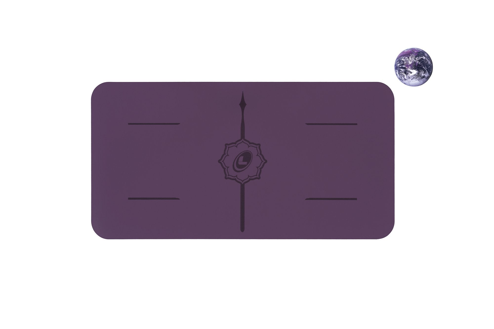 Liforme Yoga Pad - Purple Earth