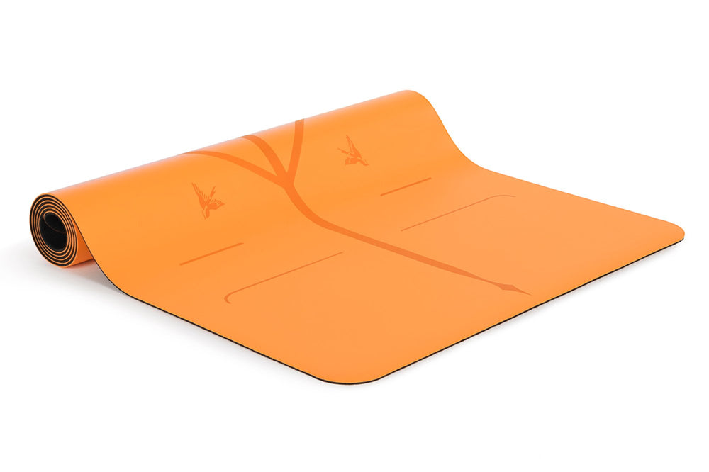 Liforme Happiness Travel Mat - Vibrant Orange image 3