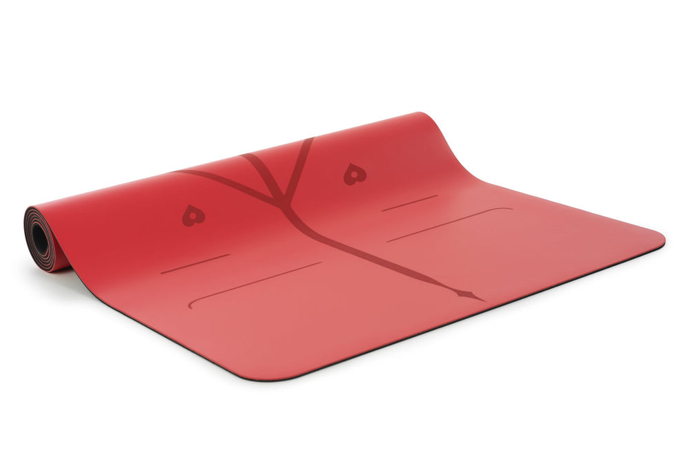 Liforme Love Travel Mat - Red image 3