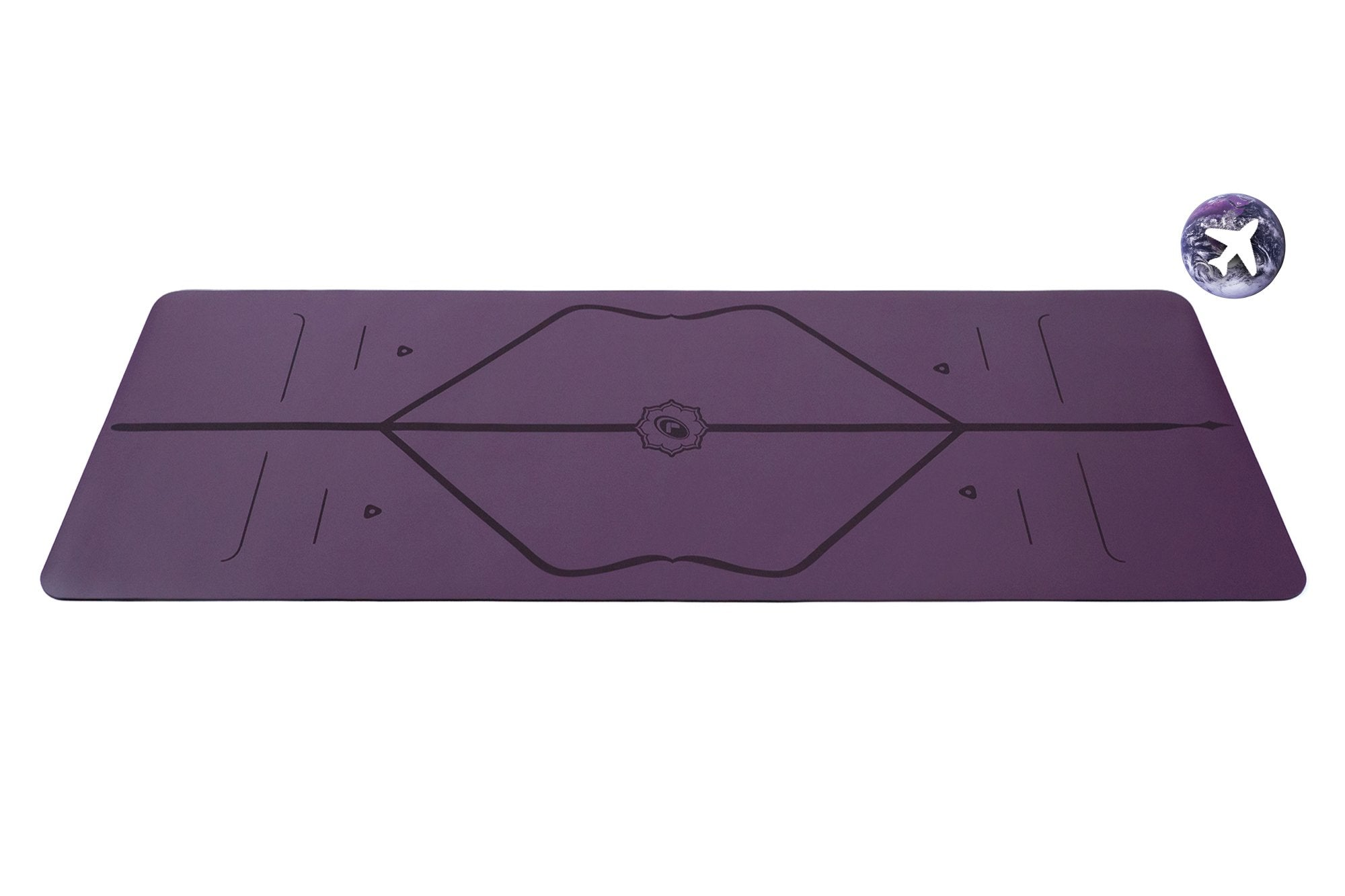 Liforme Travel Mat - Purple Earth