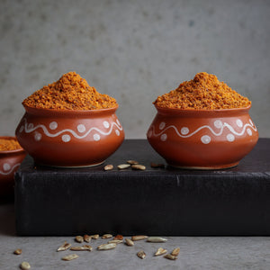 Pumpkin Watermelon Sunflower Seed Podi (three in one)