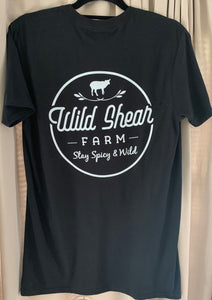 Black Short Sleeve T Shirt