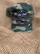 Camo Adjustable SnapBack Hat