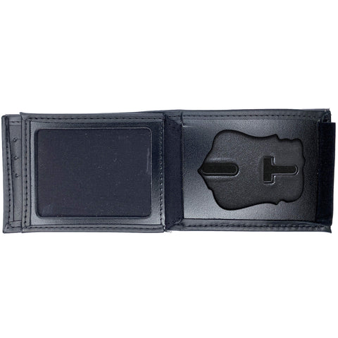 Fort Worth Police Horizontal Bifold Hidden Badge Wallet-Perfect Fit-911 Duty Gear USA