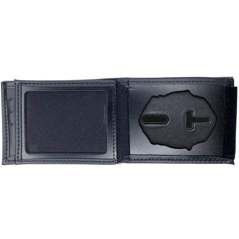 Dallas Police Horizontal Bifold Hidden Badge Wallet