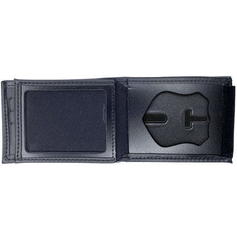 New Jersey Department of Corrections (DOC) Horizontal Bifold Hidden Badge Wallet-Perfect Fit-911 Duty Gear USA