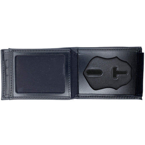 New Jersey Department of Corrections (DOC) Sergeant & Up Horizontal Bifold Hidden Badge Wallet-Perfect Fit-911 Duty Gear USA