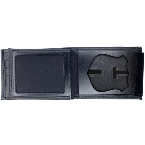 Albany Police Officer Horizontal Bifold Hidden Badge Wallet-Perfect Fit-911 Duty Gear USA