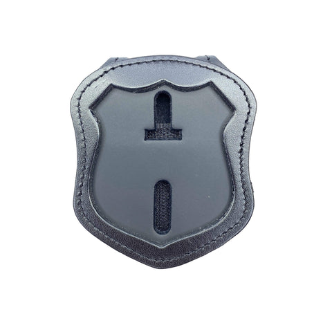 Custom Perfect Fit Cut Police Officer Badge Belt Holder & Neck Chain-Perfect Fit-911 Duty Gear USA