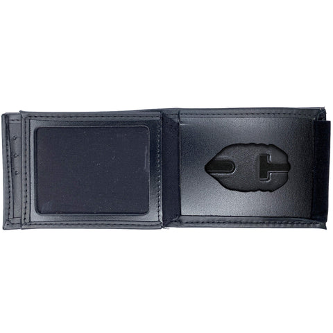 Florida Department of Corrections (DOC) Horizontal Bifold Hidden SMALL Badge Wallet-Perfect Fit-911 Duty Gear USA