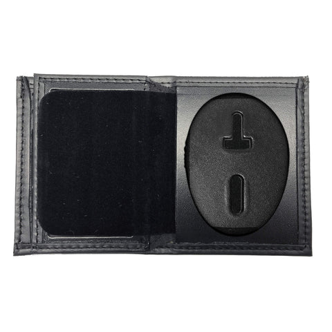 Los Angeles Police Department - LAPD Bifold Hidden Badge Wallet-Perfect Fit-911 Duty Gear USA